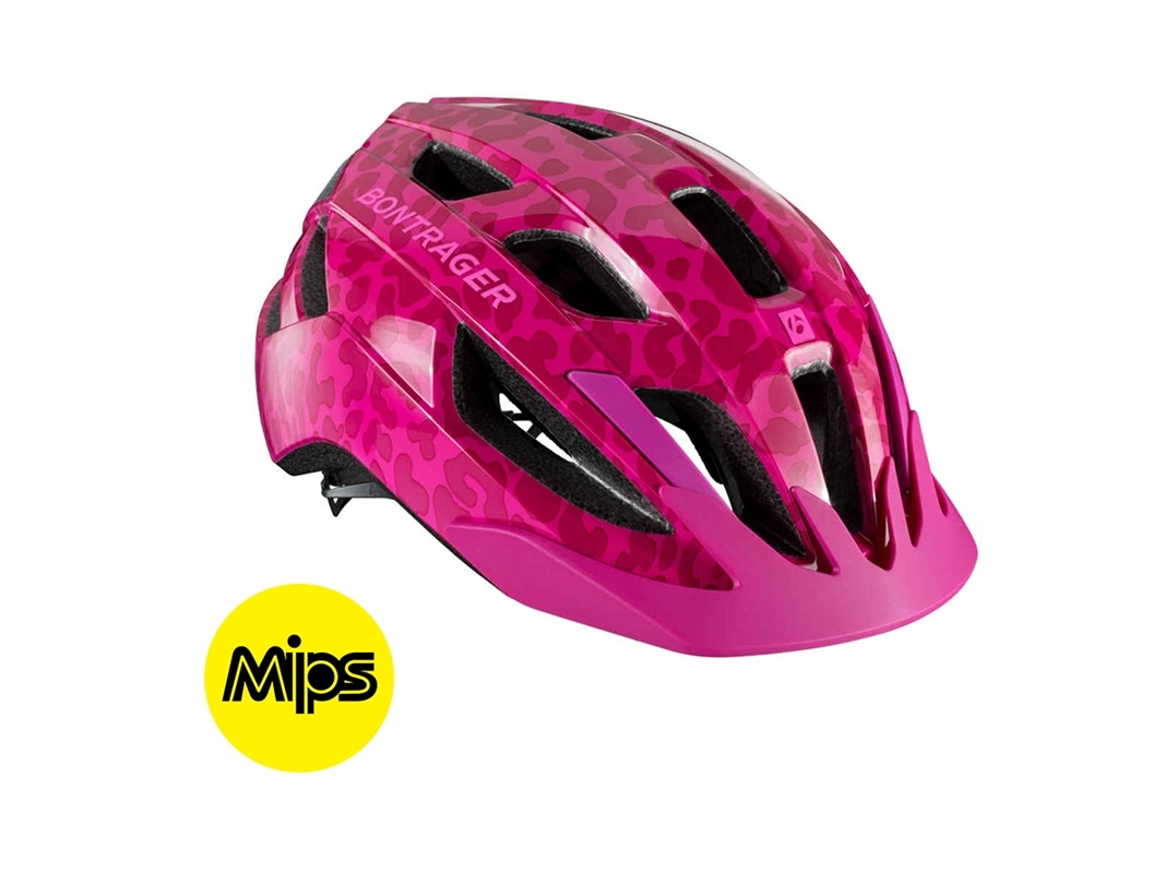 Bontrager Hjälmsolstice Mips Junior Pink Ce