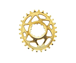 Absoluteblack Kedjedrev Direct Mount Oval 1X10/11/12 Fits Xtr 9100/9120 Guld 34T