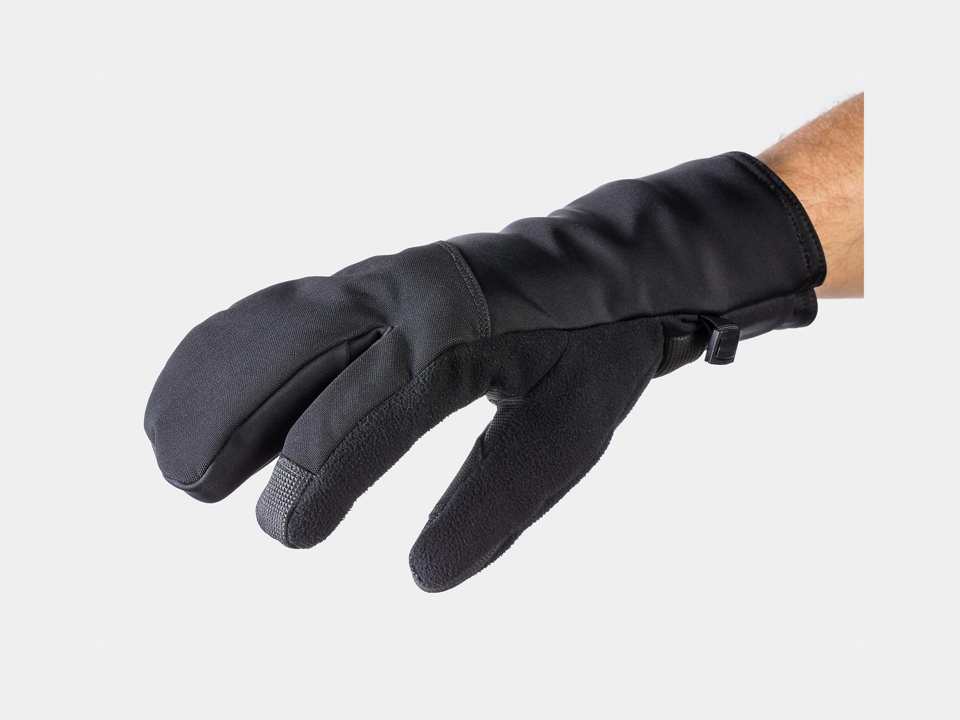 Bontrager Glove Velocis Split Finger Softshell Small Svart