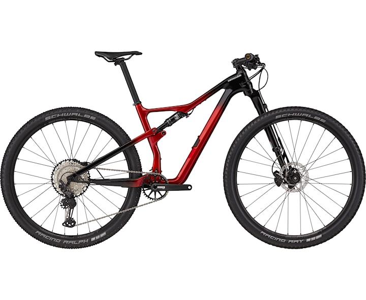 Cannondale Mtb Scalpel Carbon 3 M Röd