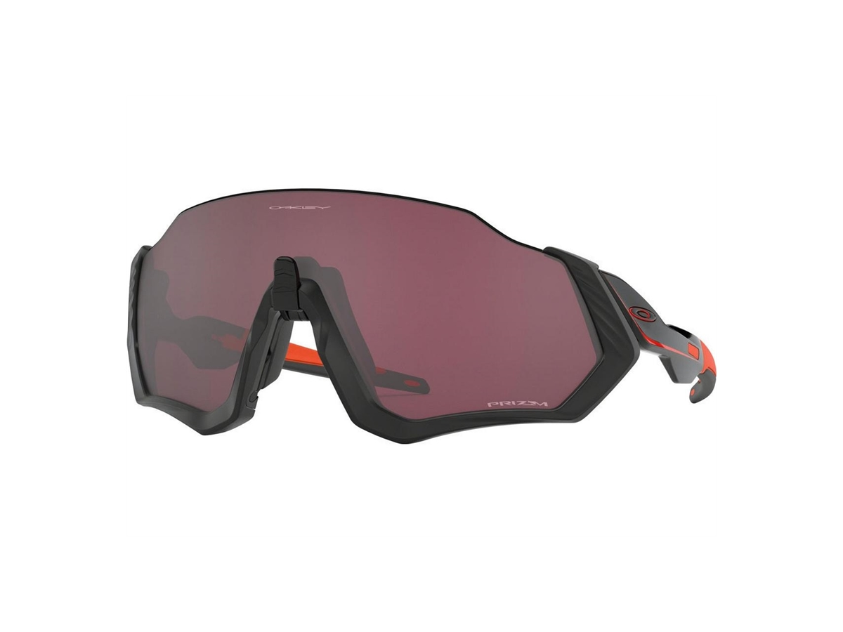 Oakley Flight Jacket Glasögon Matte Svart Prizm Road Svart
