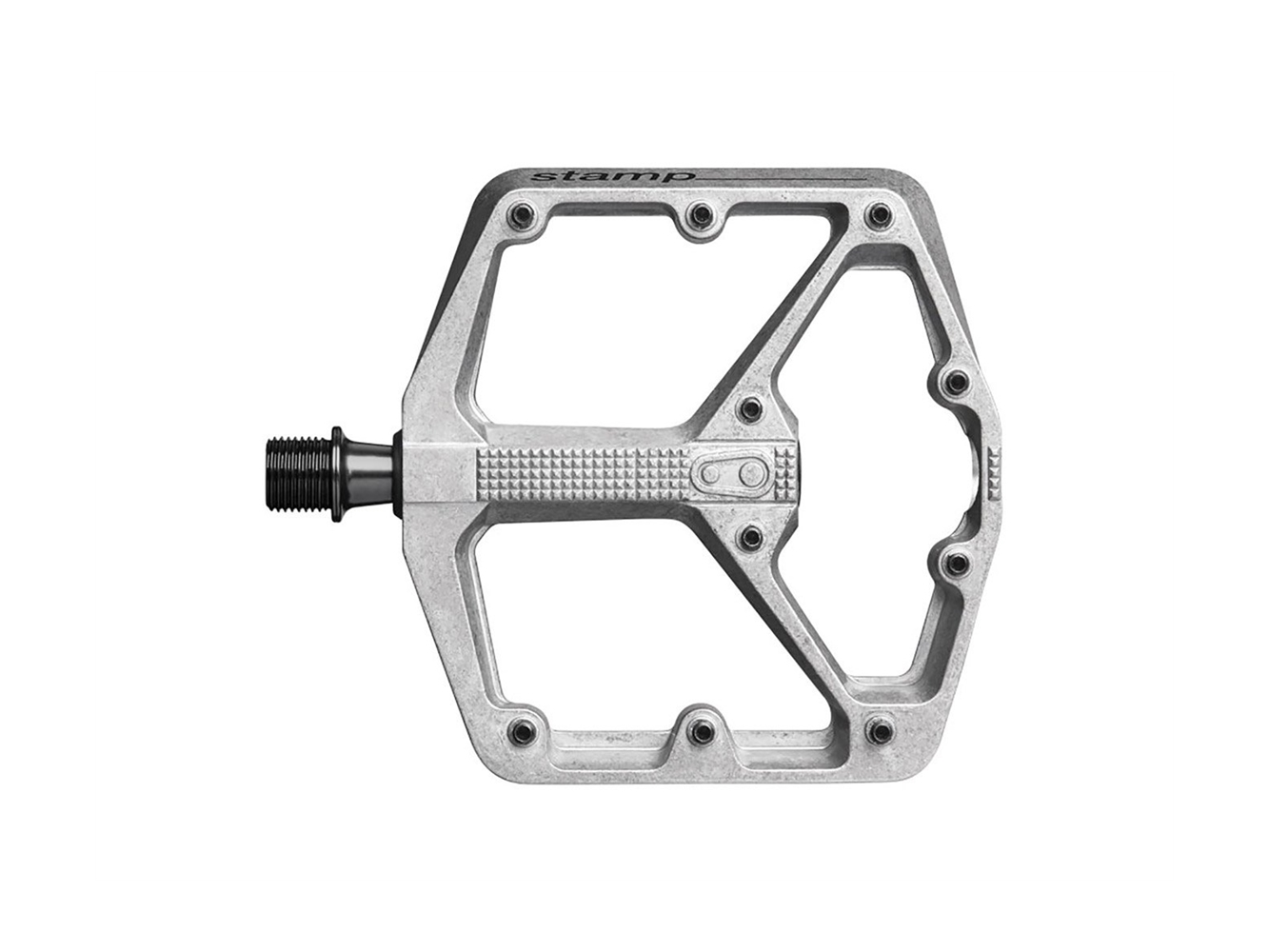 Crankbrothers Pedal Stamp 2 Large Raw 114 X111 Mm