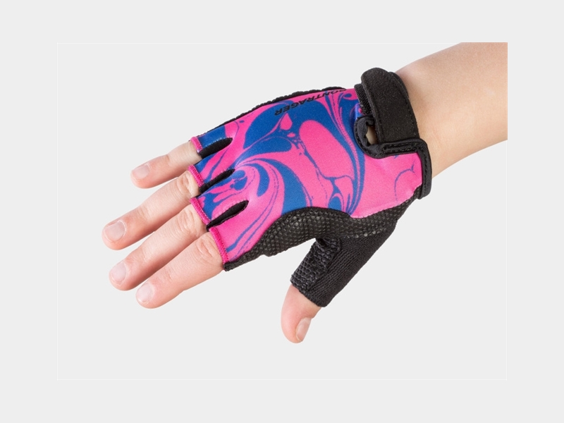 Bontrager Glove Kids Small/Medium (4-6) Bright Pink Lava