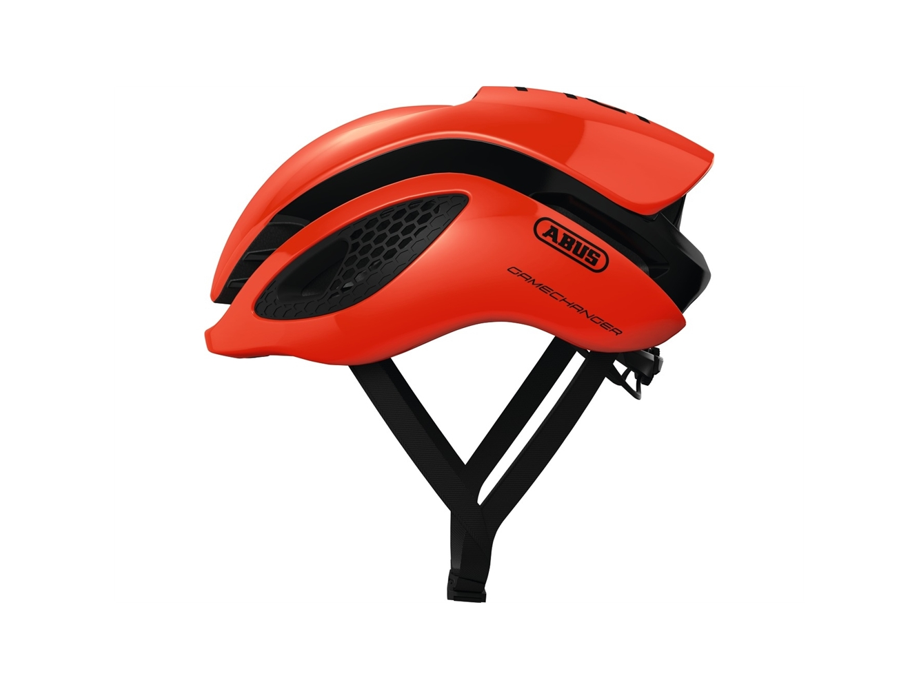Abus Gamechanger Orange S 51-55 cm