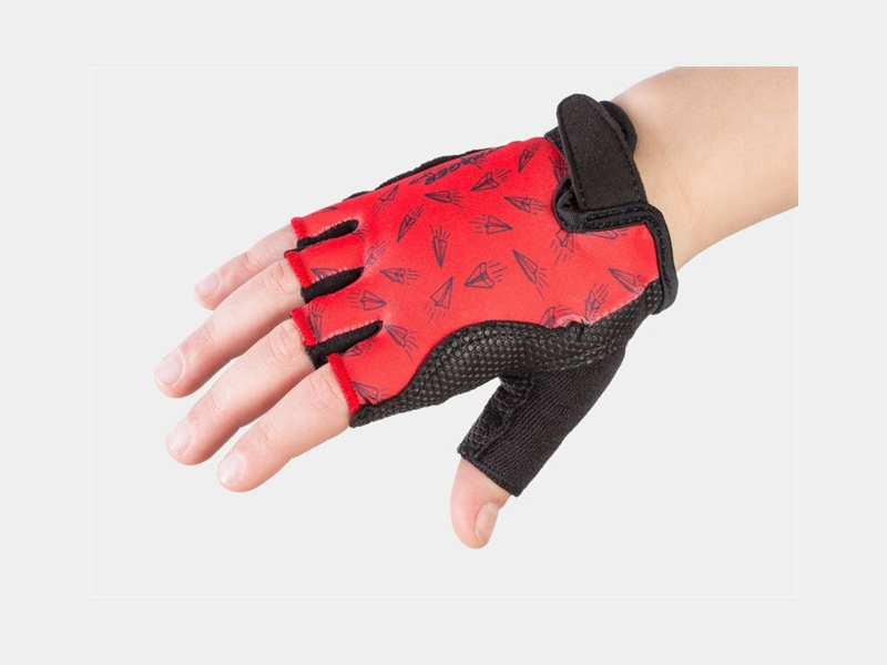 Bontrager Glove Kids Small/Medium (4-6) Red Paper Airplane