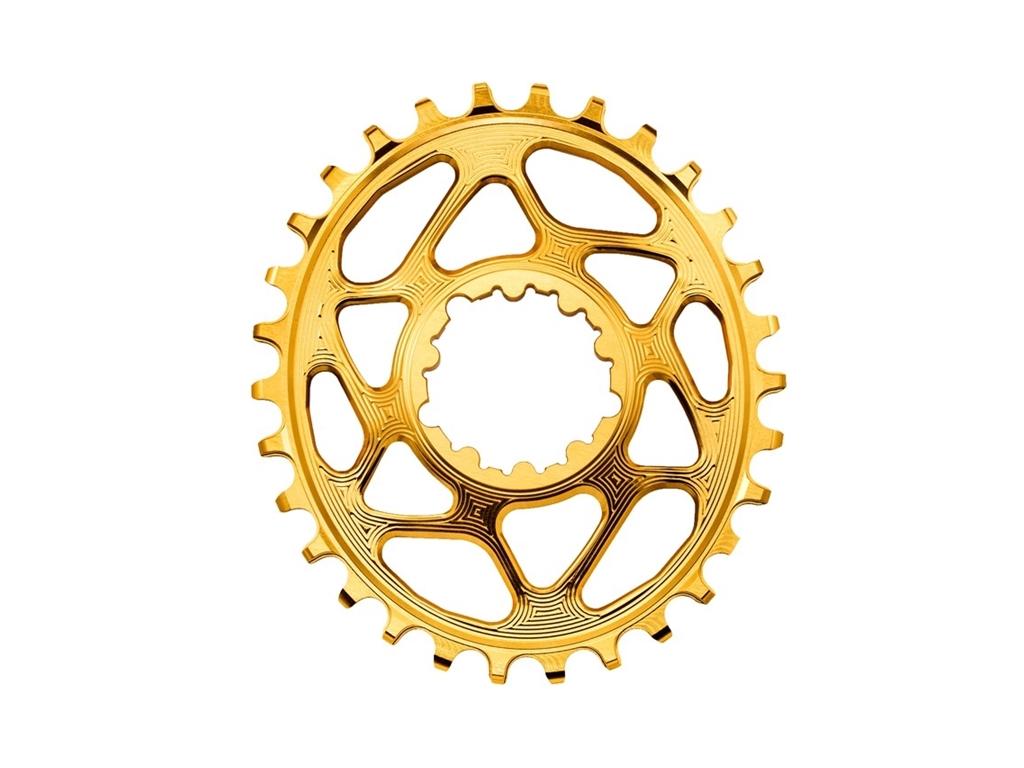 Absoluteblack kedjedrev direct mount oval 1x10/11/12 fits sram mtb boost guld 34t