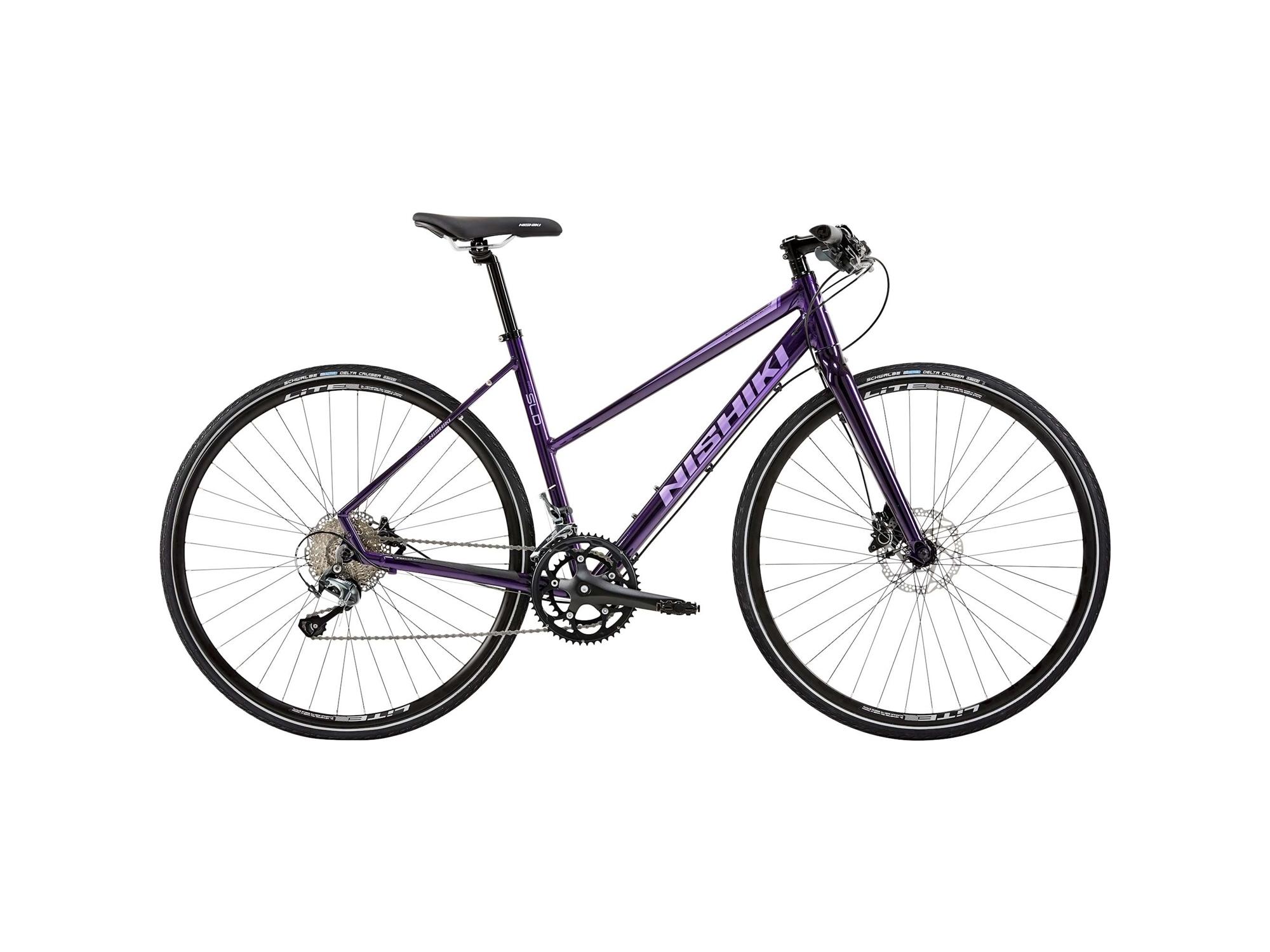 "Nishiki Pro/Sld-C Lady 17"" Purple"