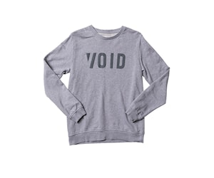 Void Ride Crew Grey Melange S