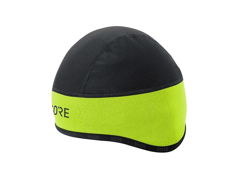 Gore C3 Gore Windstopper® Helmet Cap Neongul/Svart 54-58