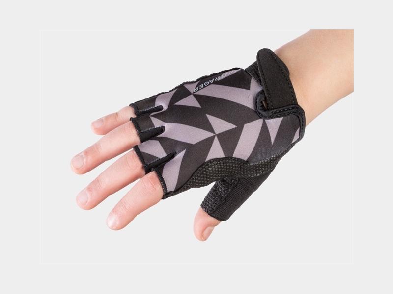 Bontrager Glove Kids Small/Medium (4-6) Svart Tile
