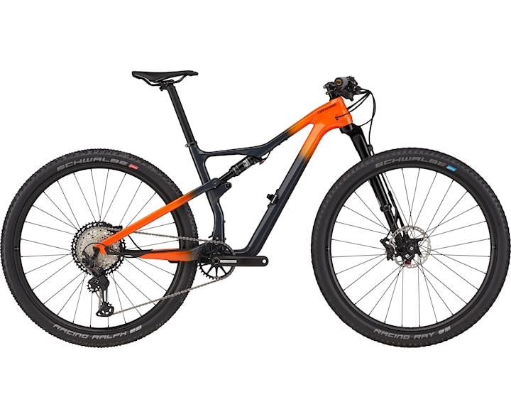 Cannondale Mtb Scalpel Carbon 2 S Grå/Orange