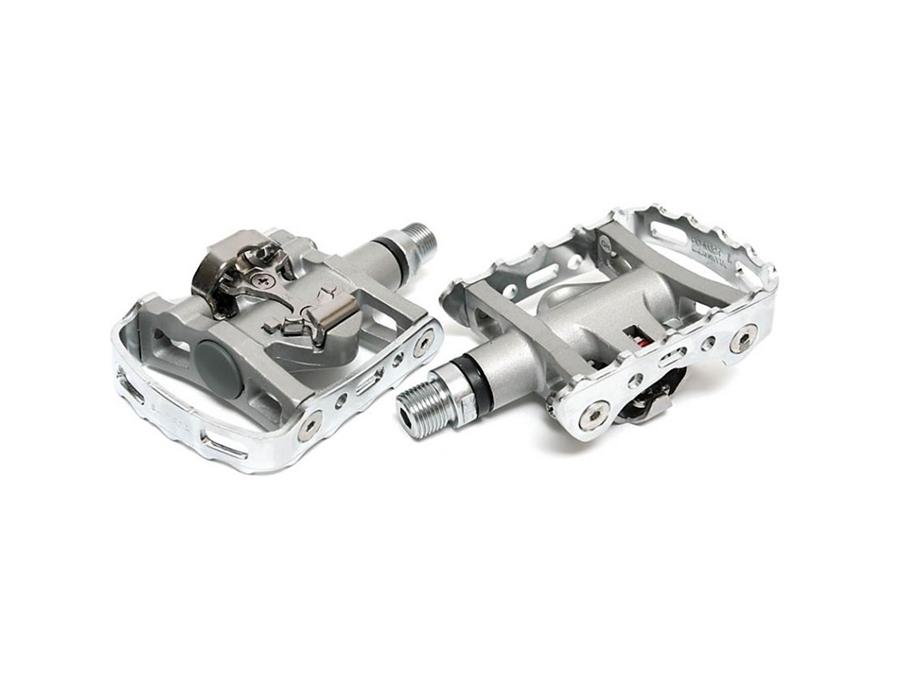 Shimano M324 Pedalpar Silver Spd