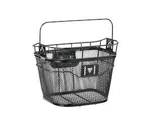 Topeak 1 Basket Front Quickclick Korg Svart 16L