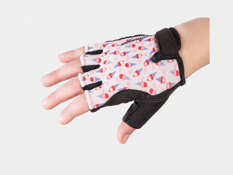 Bontrager Glove Kids Small/Medium (4-6) White Ice Cream Cone