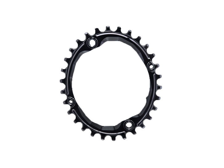 Absolute Black Chainring Ø104 Mm Singlespeed 36T 4 Holes Black, Aluminium 7075, Oval, 1X10/11/12 Speed