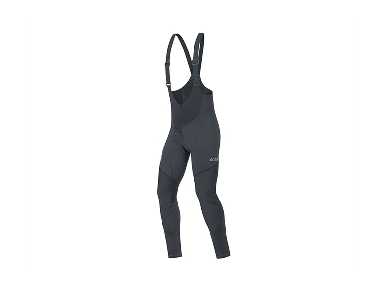 Gore C3 Gore Windstopper® Bib Tights+ Svart Xxl