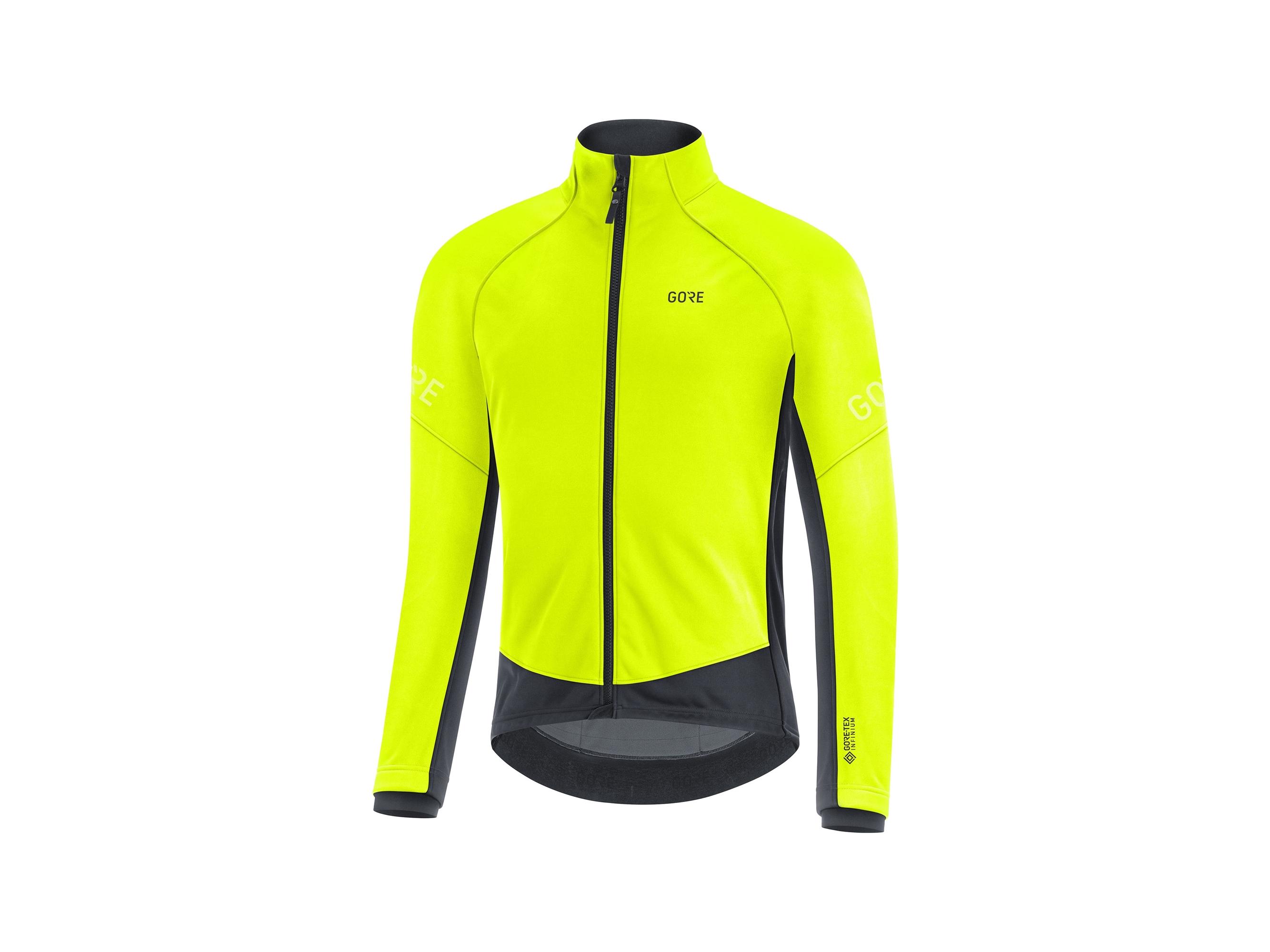Gore C3 Gore-Tex Infinium™ Thermo Jacket Neongul/Svart Xxl