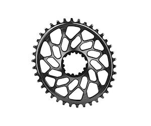 Absoluteblack kedjedrev direct mount oval 1x10/11/12 fits gxp/bb30 svart 40t