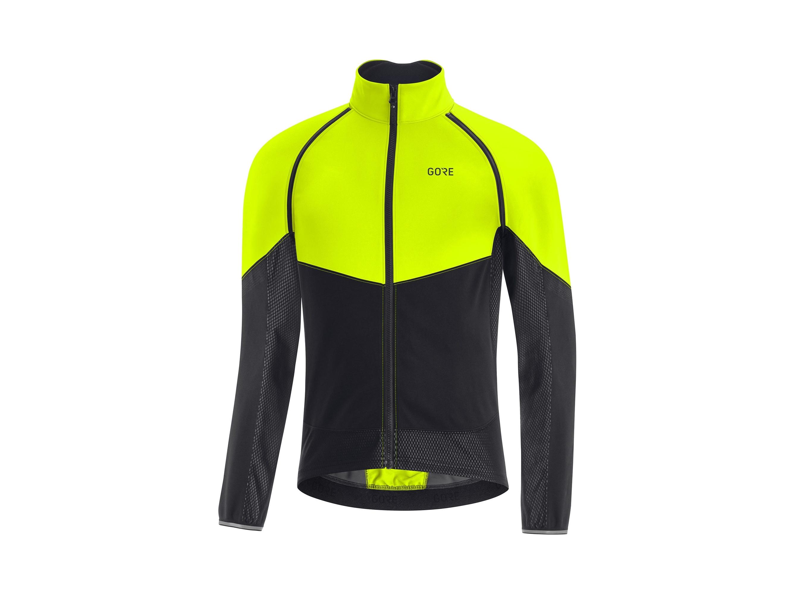 Gore Phantom Gore-Tex Infinium™ Jacket Neongul/Svart M