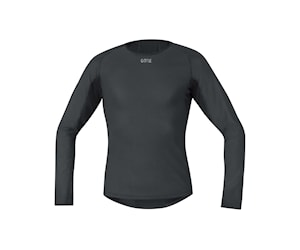 Gore M Windstopper® Base Layer Thermo L/S Shirt Svart M