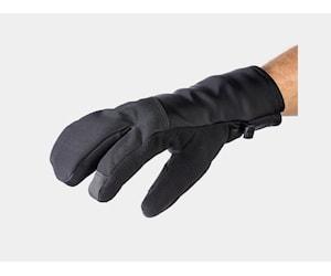 Bontrager Glove Velocis Split Finger Softshell Medium Svart