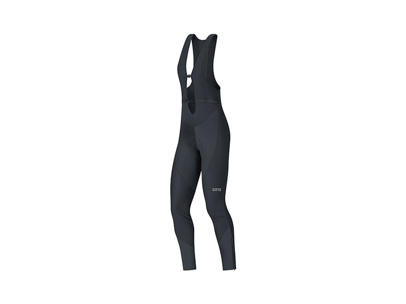 Gore C3 Women Gore Windstopper® Bib Tights+ Svart 42