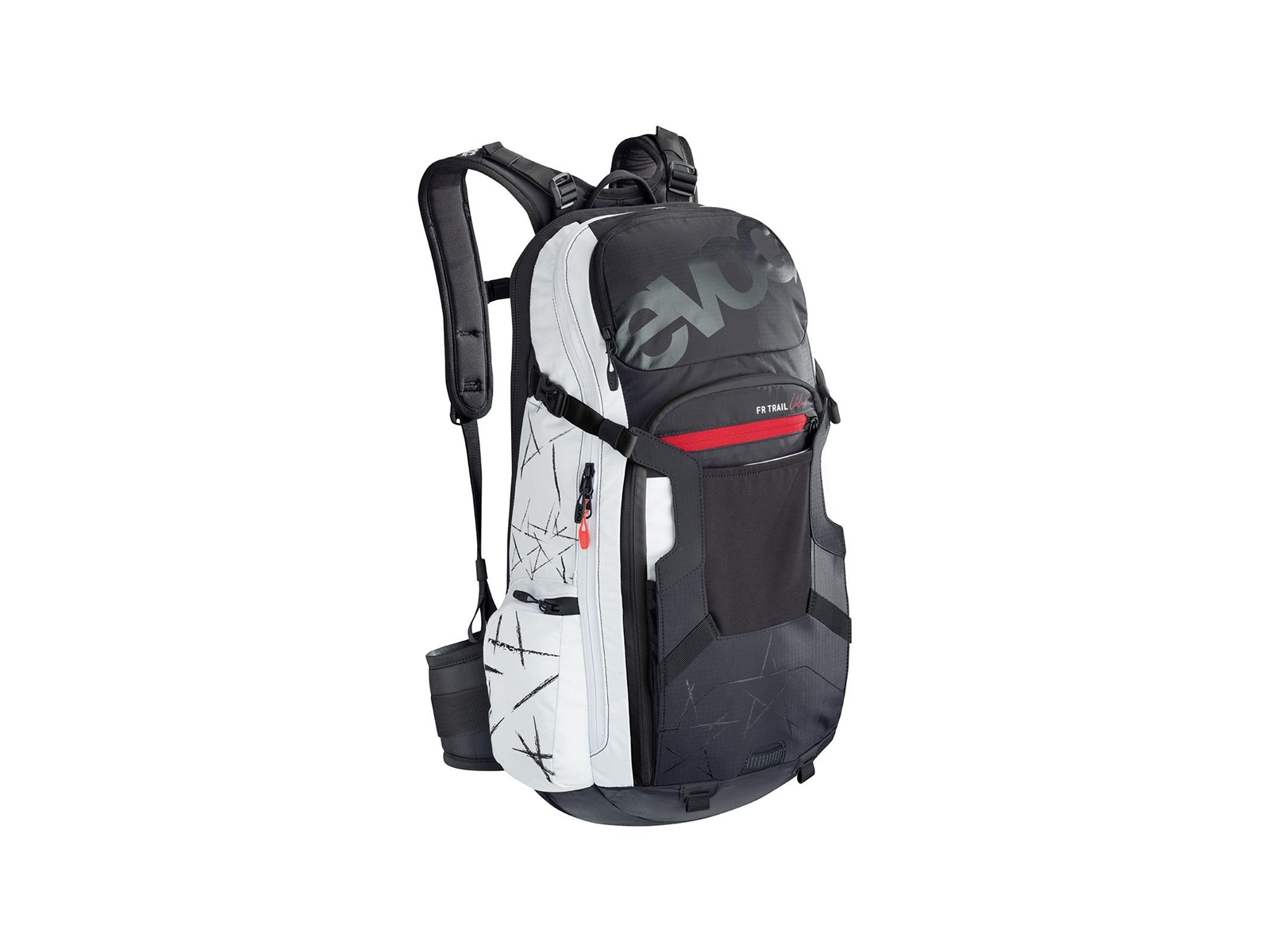Evoc Fr Trail Unlimited Ryggsäck Black/White M/L