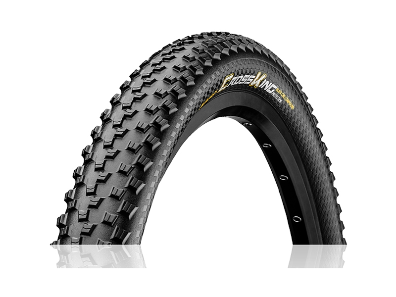 Continental Cross King Protection Plus Däck Svart 27,5*2,6""