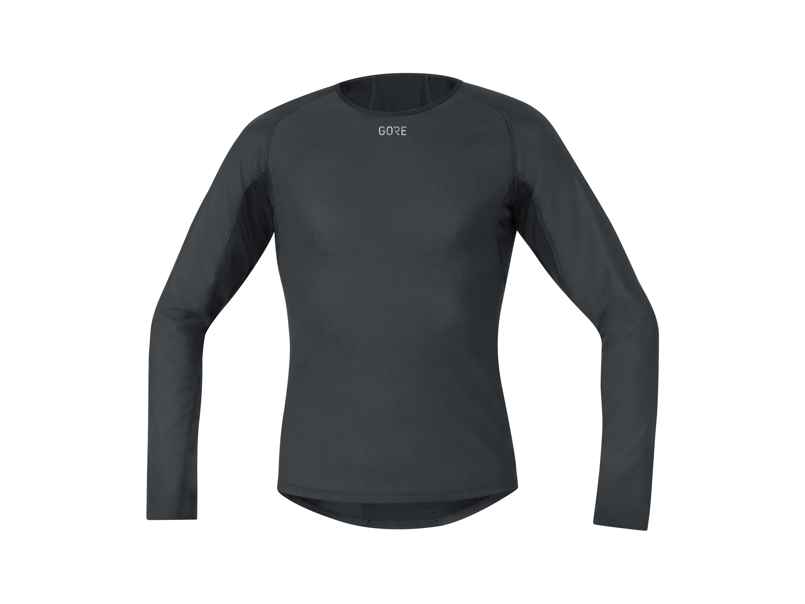 Gore M Windstopper® Base Layer Thermo L/S Shirt Svart L