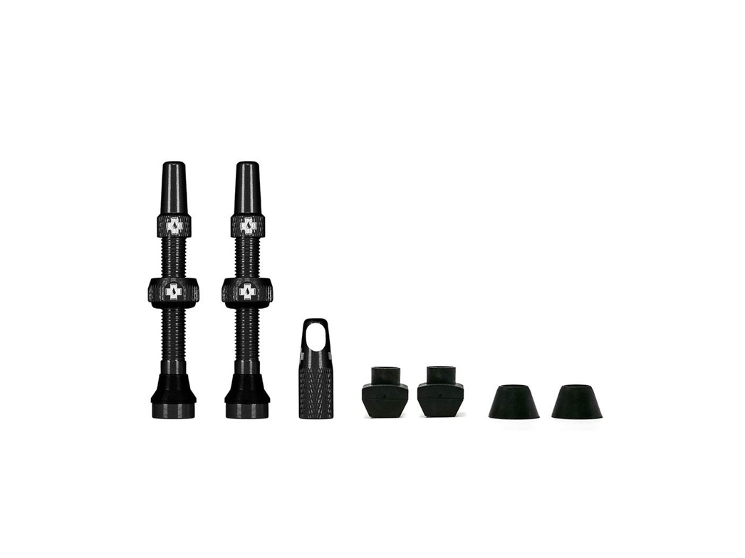 Muc-Off Tubeless Valve Kit Mtb 44Mm Svart