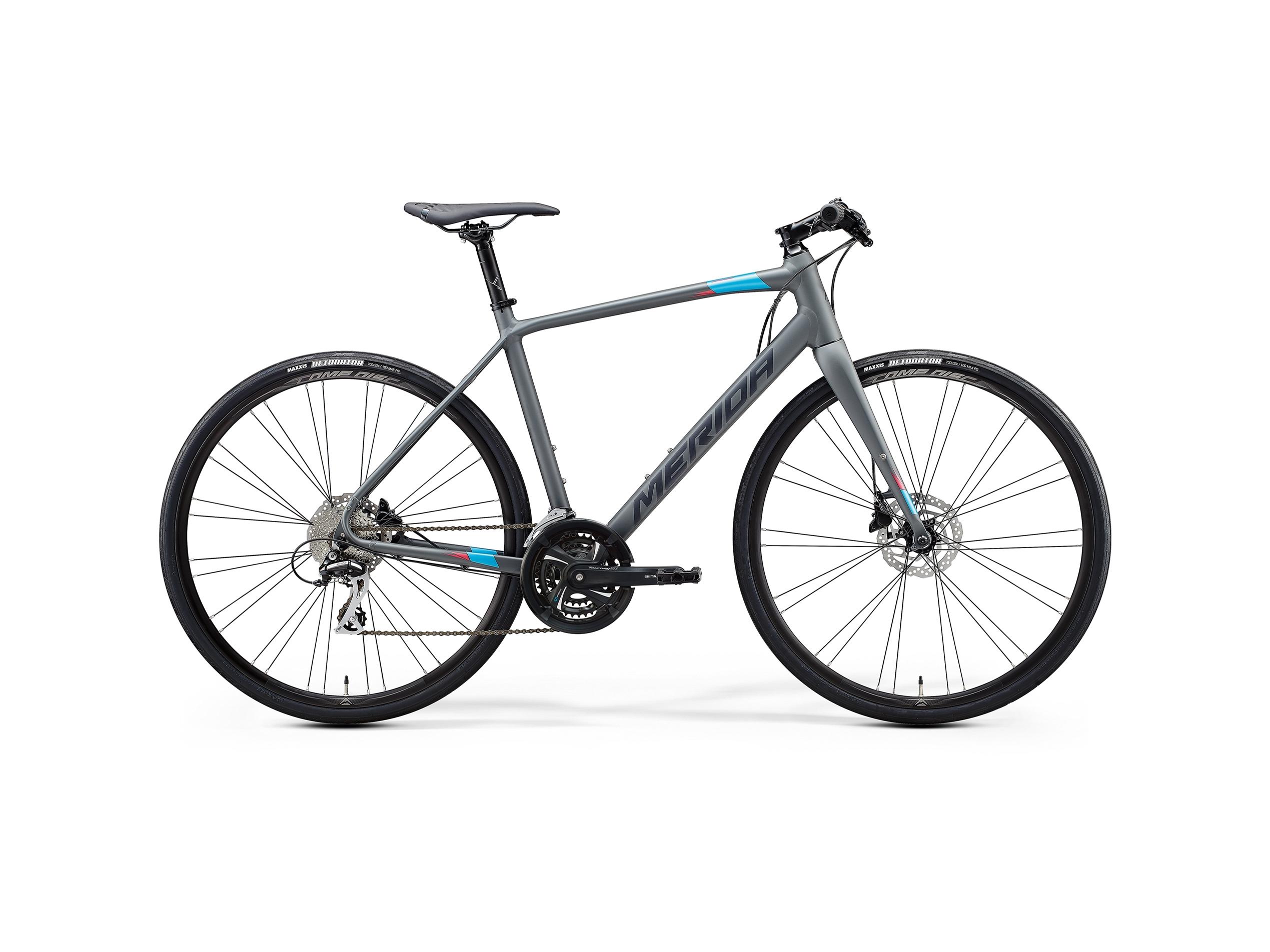 Merida Speeder 100 Grey/Blue+Xs (47 Cm)