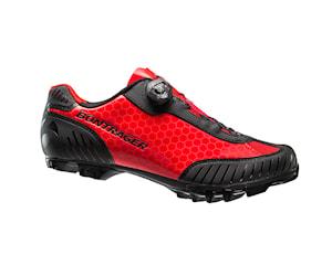 Bontrager foray mtb-skor röd 47