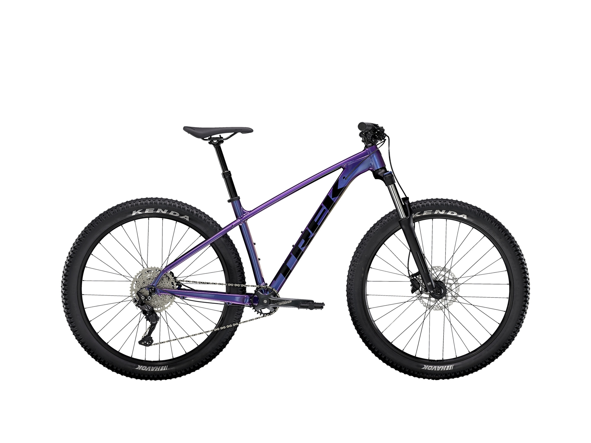 Trek Roscoe 6 Purple Flip/Trek Black Xl