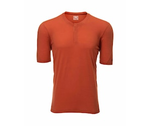 7Mesh Desperado Merino Henley Orange L