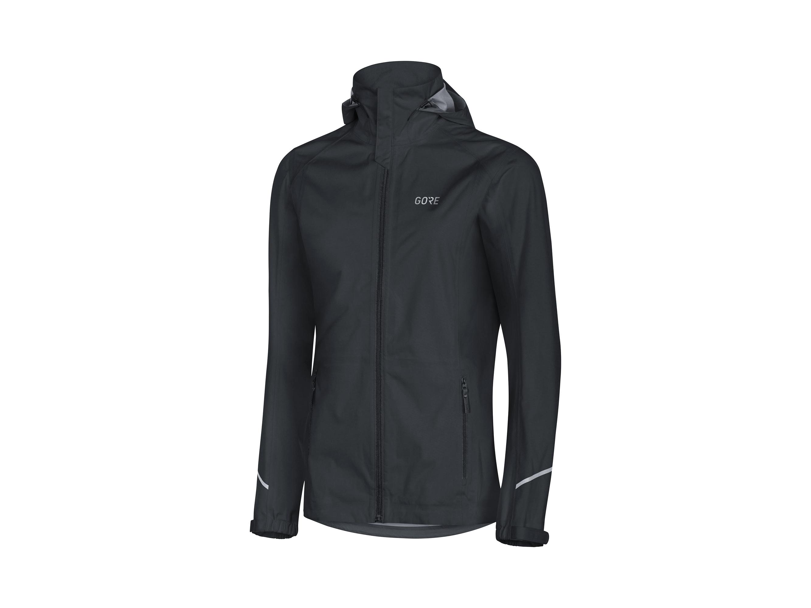 Gore R3 Women Gore-Tex Active Hooded Jacket Svart 38