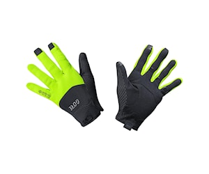 GORE C5 GTX I GLOVES BLACK/NEONYELLOW 9