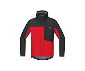 Gore C3 Gtx Paclite Hooded Jacka Röd/Svart L